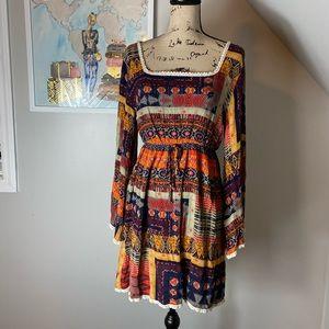 Addie long sleeve vintage looking dress